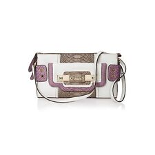 GUESS BERLIN TOP ZIP FLAP WITH EXTRA STRAP-INCREDIBLE COLORS!