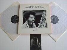 ANTHONY BRAXTON Performance for quartet 1979 2LP Box mit Postcard Hat Hut Rec.