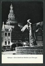 Nijmegen  Grote Markt met Mariken van Nimwegen