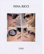 PUBLICITE ADVERTISING 114 1993 NINA RICCI D.ISSERMANN ADRIANA KAREMBEU