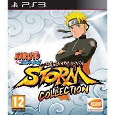 Naruto Shippuden Ultimate Ninja Storm Collection PS3 Game Brand New