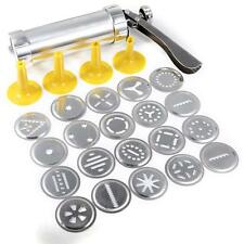Biscuit Cookies Making Machine Cake Maker Press Pump Decor 20 Prints 4 nozzles *
