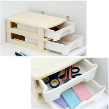 Desktop Organizer Box Desk Storage  Second stage chiffonier Stationery Organizin