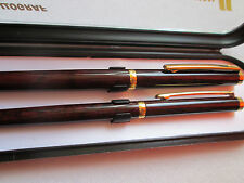 New listing Vintage Rare Luxury German Set Of Pen And Fountain Pen Ballograf Chinese Lacquer