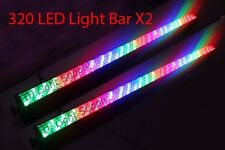 LOT DJ 320 10mm RGB LED LIGHT WALL WASH BAR DMX512 STAGE PARTY SHOW 2 PC USA
