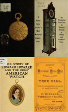 125 RARE BOOKS ON HOROLOGY, POCKET WATCH, CLOCK, REPAIR, MAKING & HISTORY ON DVD