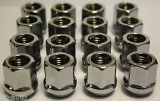 16 X M12 X 1.5 OPEN END ALLOY WHEEL NUTS FIT MITSUBISHI GALANT ESTATE SPACE STAR