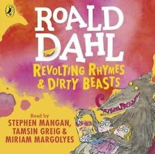 Revolting Rhymes and Dirty Beasts by Dahl  Roald CD-Audio New  Book