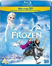 Frozen [Blu-Ray + 3D] New and Sealed -Disney 2014 High Definition Blu Ray 2 Disc