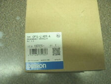 "OMRON # CP1L-L14DR-A PLC, CPU 14PTS., 8 IN/6OUT, 100-240VAC, ""NIB"""
