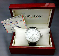 montre MECANIQUE - RAIDILLON  full set - boite papiers