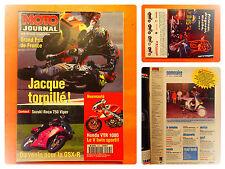 MOTO journal N° 1235 du 13/6/1996-Honda VTR 1000-Suzuki Roca 750 Viper-GP France
