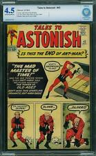 TALES TO ASTONISH # 43 US MARVEL 1963 ANT MAN    CBCS 4.5 VG+ (like CGC)
