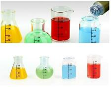 Chemistry Set Shot Glasses 30ml Fun Drinking Gift Set Kit Science Geeky Novelty