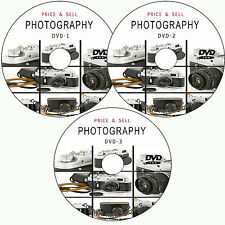 LEARN HOW TO PRICE/SELL DIGITAL PHOTOGRAPHY BUSINESS TRAINING TUTORIALS ON 3 DVD