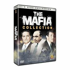 THE MAFIA COLLECTION Mobsters NEW 9 DVD SET Al Capone - The Mob - Gangsters