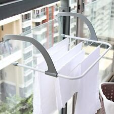 Multifunction Folding Clothes Rack Drying Laundry Hanger Dryer Indoor Outdoor
