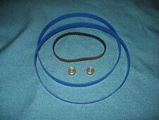2 BLUE MAX BAND SAW TIRES DRIVE BELT AND NEW THRUST BEARINGS FOR RYOBI BS901