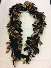 Handmade Boa Style Animal Print Tiger Fleece Scarf MOTHERS DAY