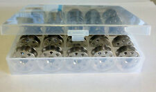 25 Bobbins with Plastic Box for Industrial Sewing Machine Juki DDL-8700 40264NS