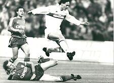 1990 VAN BASTEN foto originale Augenthaler BAYERN MILAN 2-1 Coppa campioni semif