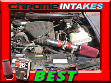 K&N+RED 94-96 CHEVY CAPRICE/IMPALA/FLEETWOOD/ROADMASTER 4.3L/5.7 5.7L AIR INTAKE