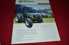 Montana Tractor Product Line Dealer's Brochure YABE12