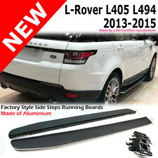 Land Rover Range Rover Sport 2013 + Side Steps Running Boards Set svr L405