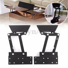 2pcs Lift Up Top Coffee Table Mechanism DIY Hardware Furniture Hinge Heavy Duty
