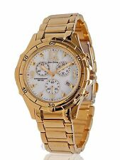 NEW WOMENS CITIZEN ECO-DRIVE (FB1352-52A) SIGNATURE GOLD TONE ECO-DRIVE WATCH