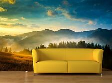 Amazing mountain landscape 3D Mural Photo Wallpaper Decor Large Paper Wall