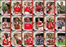 Arsenal Football League Cup final 1993 winners football trading cards