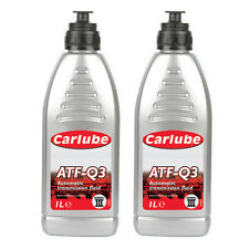 2 x Carlube ATF-Q3 Dexron 3 Automatic Transmission Power Steering Fluid - 1L