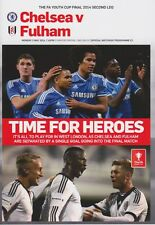 Jeunesse CUP 2014 Chelsea V Fulham 2e jambe Programme 2013 / 14