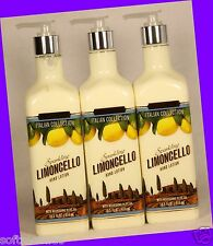 3 Bath Body Works Italian Collection SPARKLING LIMONCELLO Hand Lotion Olive Oil