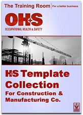OHSAS 18001:2007 Health and Safety Risk Assessment Template Collection
