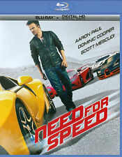 Need for Speed [Blu-ray] DVD, Harrison Gilbertson, Scott Mescudi, Rami Malek, Da