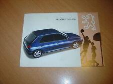 DEPLIANT Peugeot 306 XSi de 1994 Suisse