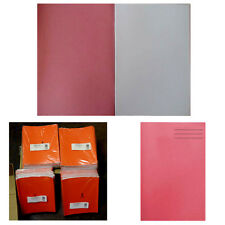 25 Plain Paper Exercise Books 32 Pages 16 Sheets  A4 Pink Drawing Book JOB LOT