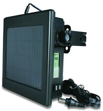 NEW! MOULTRIE FEEDERS Trail Game Camera 12 Volt Battery Solar Power Panel | CPP