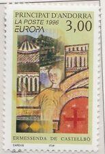 1996 Andorra Frans 497 Europa CEPT beroemde vrouwen