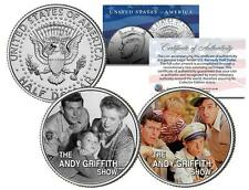 THE ANDY GRIFFITH SHOW * TV * Colorized JFK Half Dollar 2-Coin Set Gomer Barney