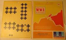 WW2 His Air Dec 1:48 Scale German Nat. Insignia Fus. & Underwing, Small, Decals