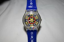 1998 SWATCH ORACOLO GZ151 WITCH CRAFT WATCH DESIGNED BY WALTER WEGMÜLLER