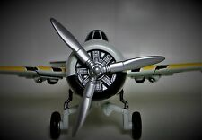 Vintage Aircraft Airplane Metal Plane WW2 Military Armor 1 48 Carousel Gray B17