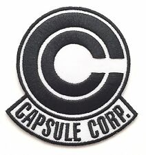Dragon Ball Z  Trunks Capsule Corp Icon Logo Iron On Patch Cosplay