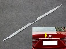 For Mazda3 Saloon 2014 2015 Chrome Rear Trunk Lid molding trim strip