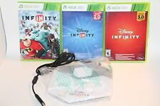 XBOX 360 DISNEY INFINITY 1.0 2.0 & 3.0 COMPLETE GAMES AND PORTAL SET LOT BUNDLE