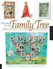 The Art of the Family Tree: Creative Family History Projects Using Paper Art, Fa