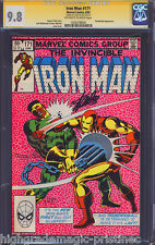 IRON MAN # 171 CGC 9.8  SS STAN LEE SIGNED HIGHEST GRADED # 1203278020